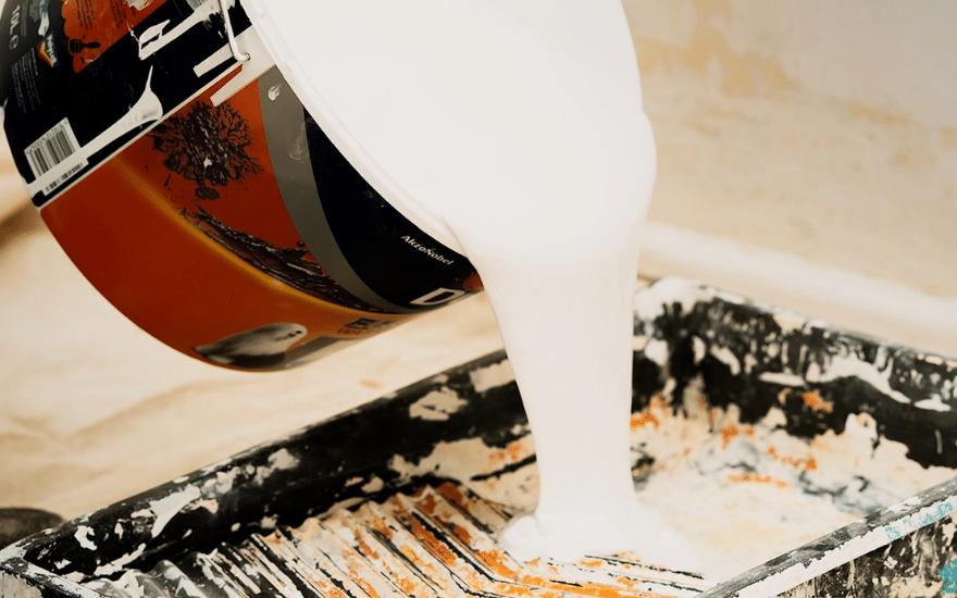 Farbe Farbeimer