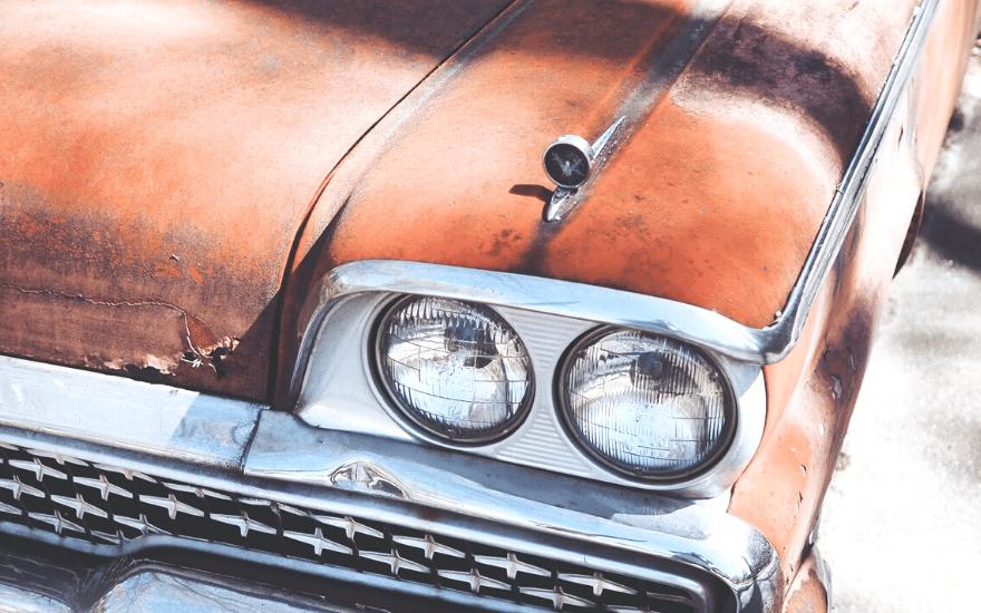Rostschicht Auto