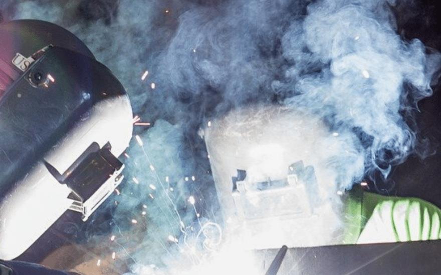 Schweißen Dampf
